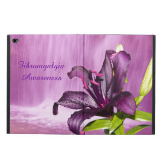 Purple Lily with Waterfall Powis iPad Air 2 Case