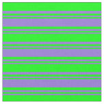 [ Thumbnail: Purple & Lime Colored Pattern Fabric ]