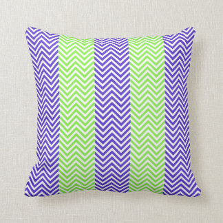 Purple And Lime Green Throw Pillows : Lime Green Chevron Pillows - Decorative & Throw Pillows Zazzle