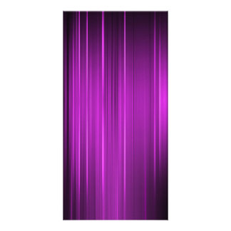 Purple Lines Picture Card