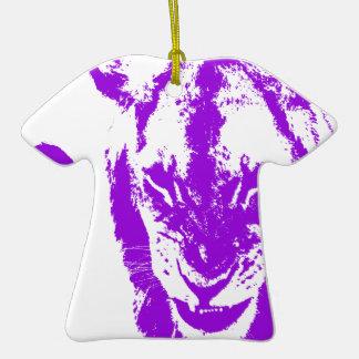 Purple Lion King Christmas Ornament