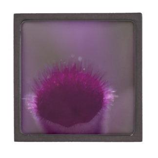 Purple little Fuzzy Jewelry Box