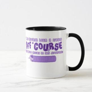 Purple Little Off Course Mug
