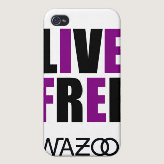 Purple Live free iPhone Case
