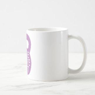 "Purple ""Live Love Lift"" Coffee Mug"