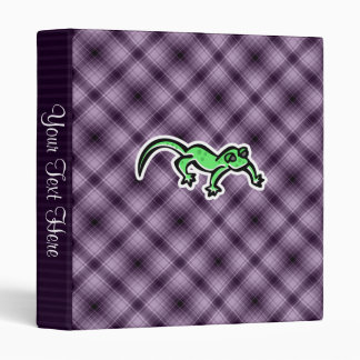 Purple Lizard 3 Ring Binder