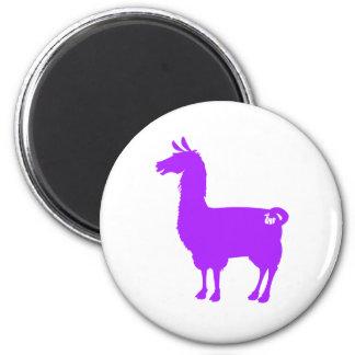 Purple Llama Magnet