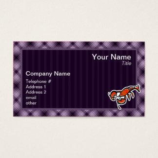 Purple Lobster Business Card