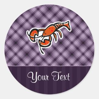 Purple Lobster Sticker