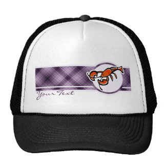 Purple Lobster Trucker Hat