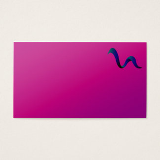 Purple Logo, Business Card