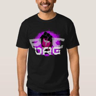 Purple logo T-Shirt: Men's Black T Shirt