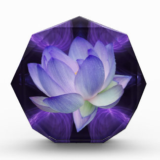 Purple Lotus and sacred geometry Award