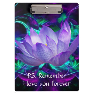 Purple lotus flower and its meaning clipboards