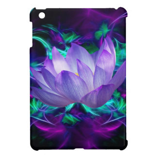 Purple lotus flower and its meaning iPad mini case