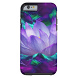Purple lotus flower and its meaning iPhone 6 case