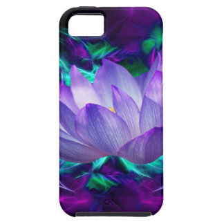 Purple lotus flower and its meaning iPhone SE/5/5s case