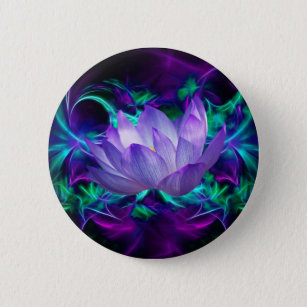 Purple meaning accessories zazzle purple lotus flower and its meaning pinback button mightylinksfo Choice Image
