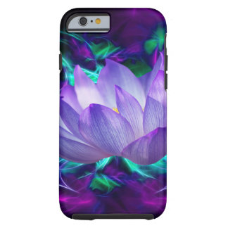 Purple lotus flower and its meaning tough iPhone 6 case