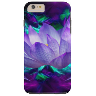Purple lotus flower and its meaning tough iPhone 6 plus case