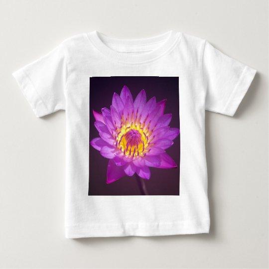 Purple Lotus Flower Baby T-Shirt