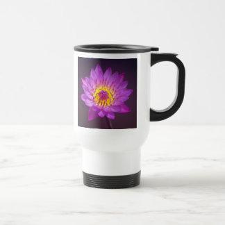 Purple Lotus Flower Coffee Mug