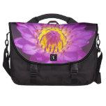 Purple Lotus Flower Computer Bag