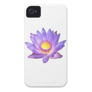 Purple Lotus Flower iPhone 4 Case