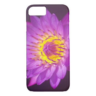 Purple Lotus Flower iPhone 7 Case