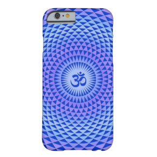 Purple Lotus flower meditation wheel OM Barely There iPhone 6 Case