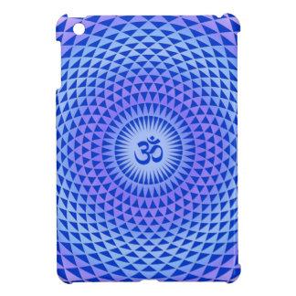 Purple Lotus flower meditation wheel OM Case For The iPad Mini
