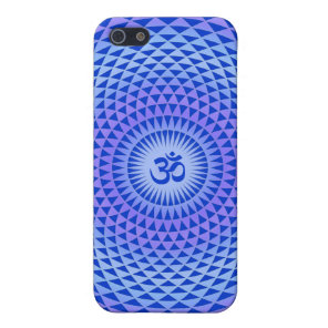 Purple Lotus flower meditation wheel OM Cover For iPhone SE/5/5s