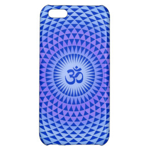 Purple Lotus flower meditation wheel OM iPhone 5C Covers