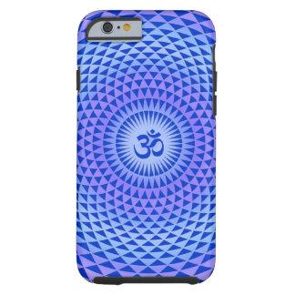 Purple Lotus flower meditation wheel OM Tough iPhone 6 Case