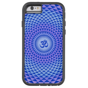 Purple Lotus flower meditation wheel OM Tough Xtreme iPhone 6 Case