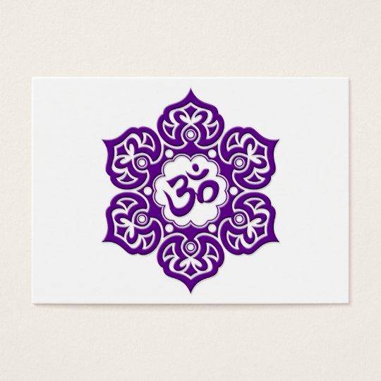 Purple lotus flower om on white zazzle purple lotus flower om on white mightylinksfo