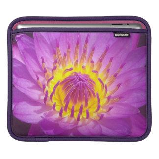 Purple Lotus Flower Sleeve For iPads