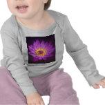 Purple Lotus Flower T Shirts