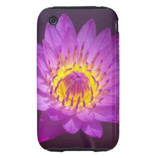 Purple Lotus Flower Tough iPhone 3 Covers