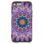 Purple Lotus kaleidoscope iPhone 6 Case