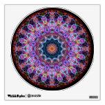 Purple Lotus kaleidoscope Wall Decor