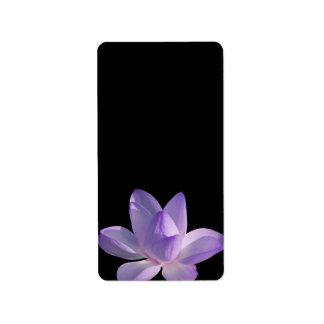 Purple Lotus Light on Black Label