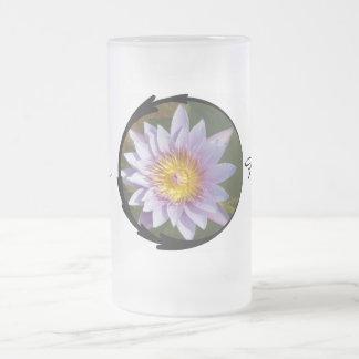 Purple Lotus/Water Lily Mugs