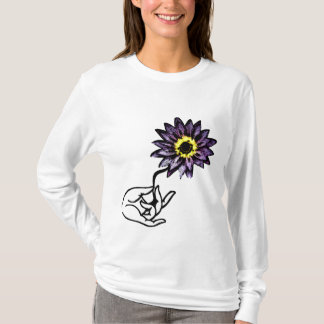 Purple Lotus - Yoga Hoodie Shirt