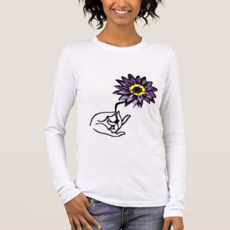 Purple Lotus - Yoga Shirts (long-sleeve)