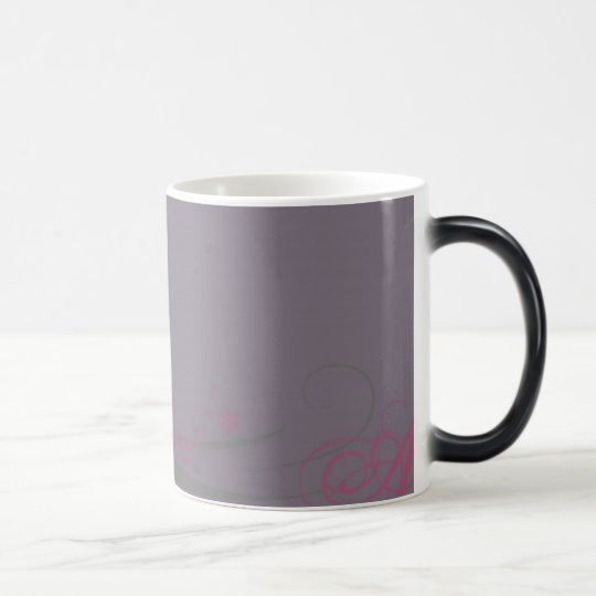 purple love magic mug