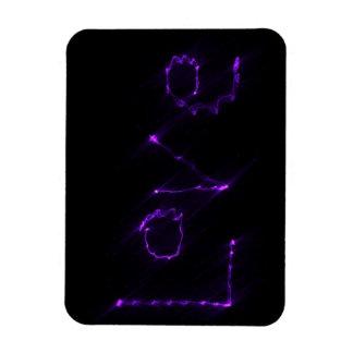 Purple Love Magnet