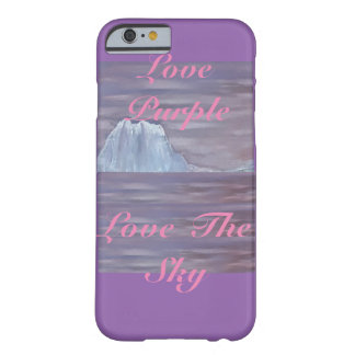 Purple Love Purple Love the Sky Phone Case