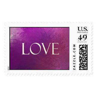 Purple Love Stamp