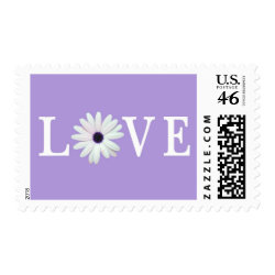Purple Love stamps